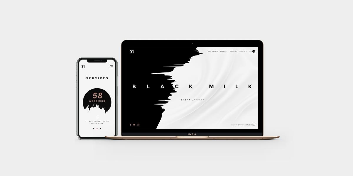 Blackmilk web adaptive design