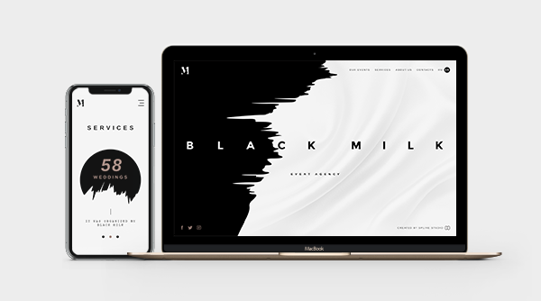 Blackmilk Web Design