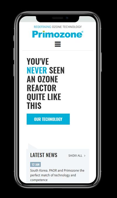 Primozone site mobile