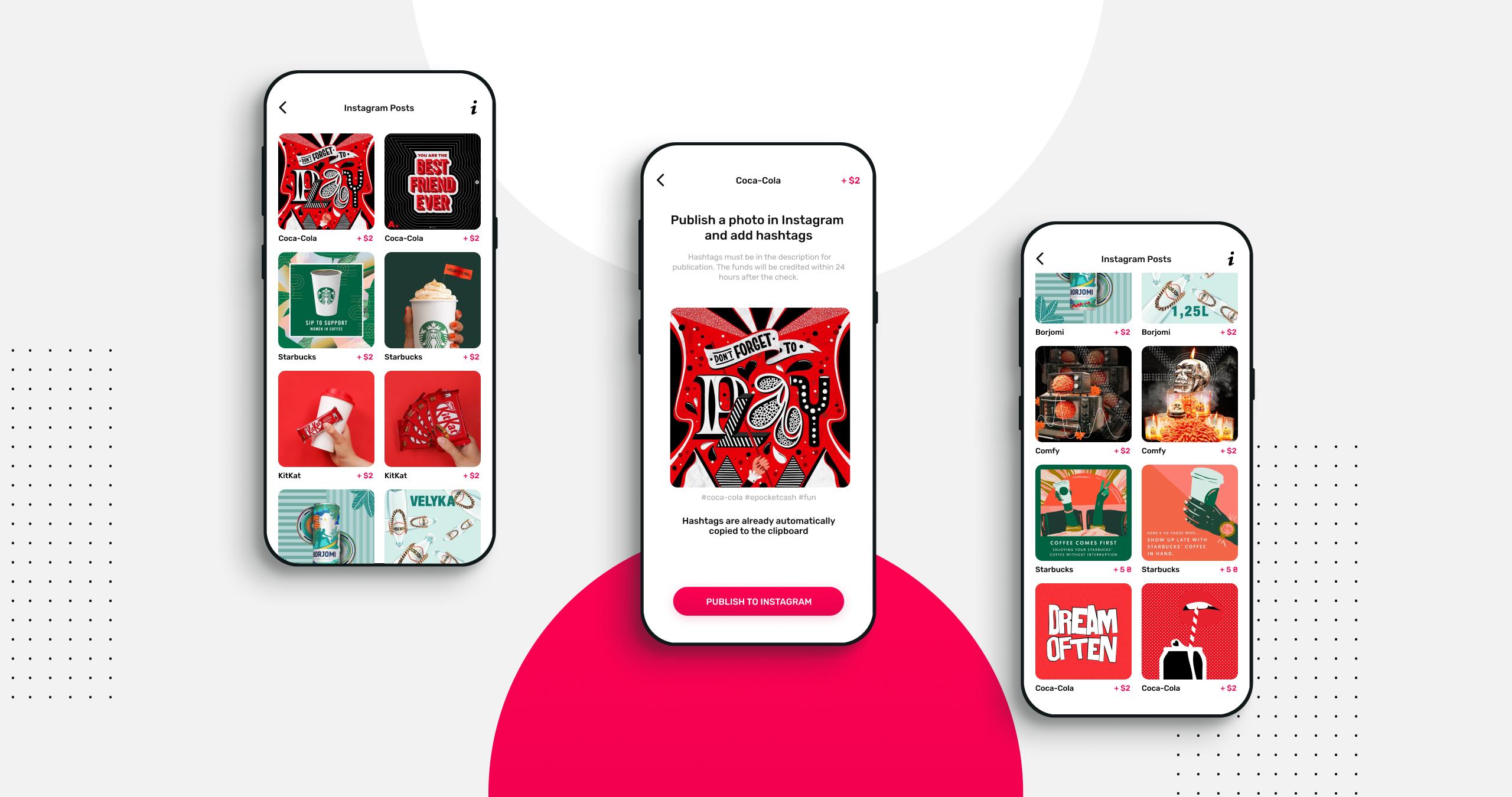ePocketcash iOS mobile application