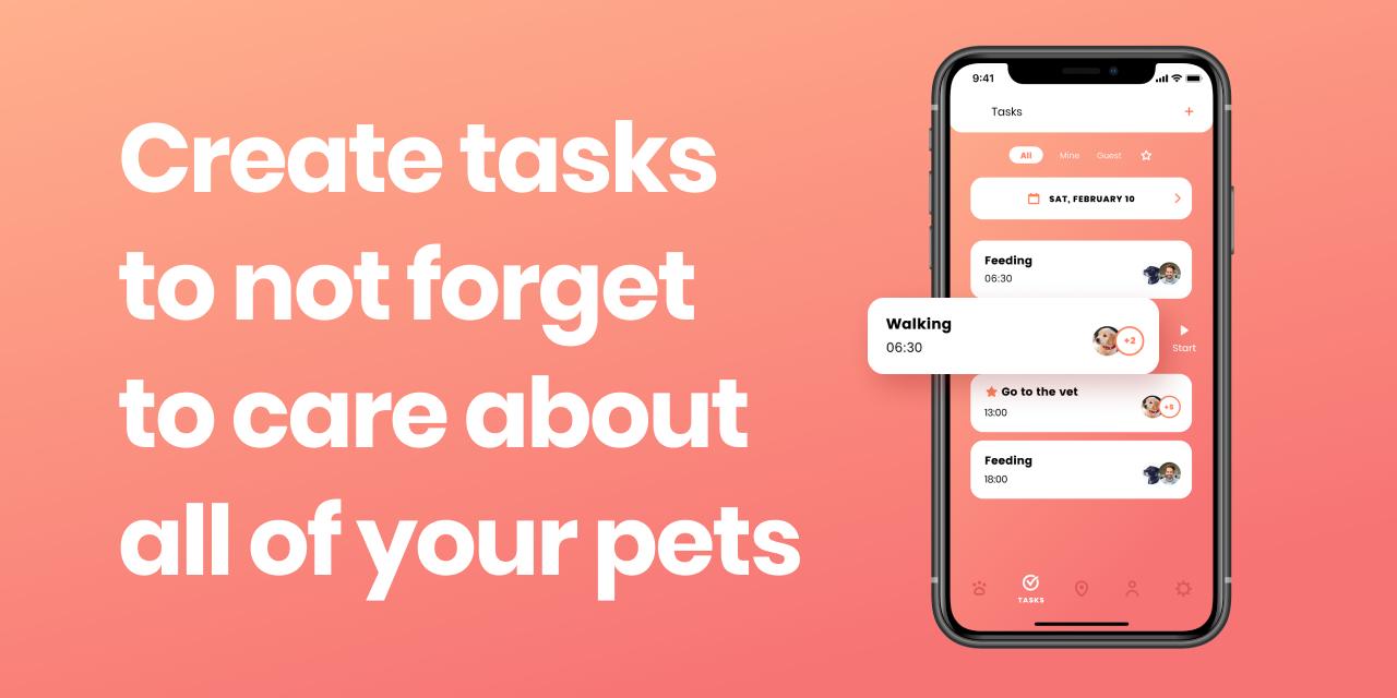 petsstep pets task manager