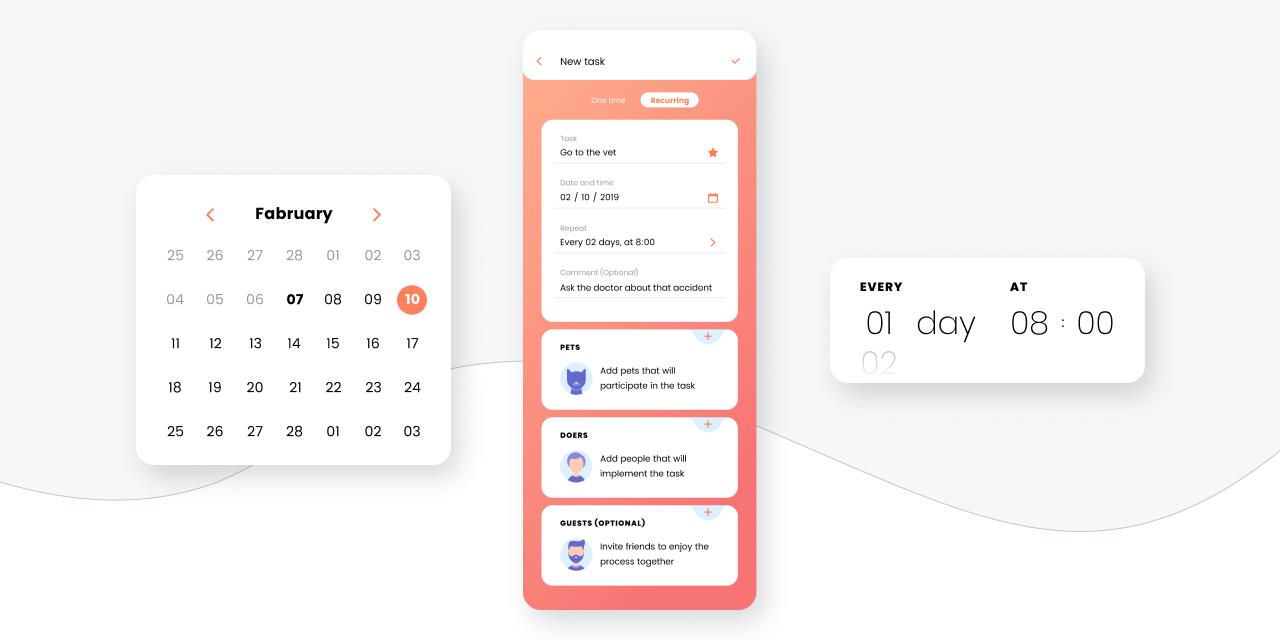 petsstep pets task scheduler