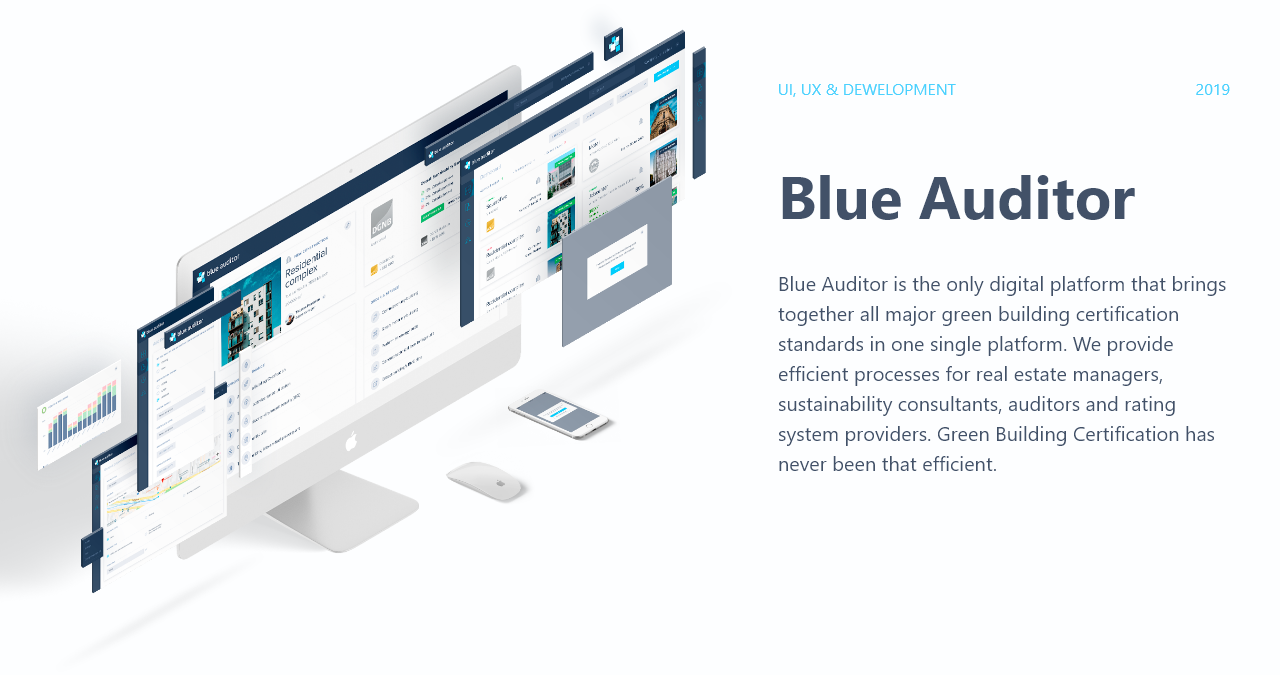 BlueAuditor marketplace